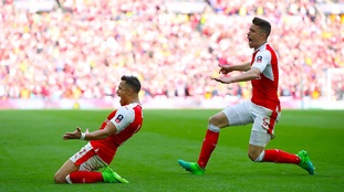 Arsenal beat Man City in extra time to reach FA Cup final