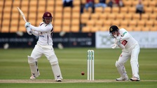 Ben Duckett, seen here in action last season, struggled against Worcestershire.