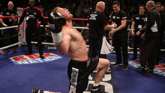 Flintoff's maiden fight