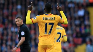 Liverpool suffer blow to top-four hopes with Palace loss