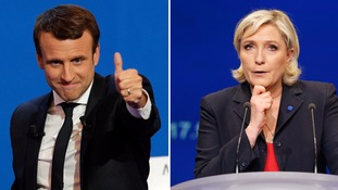 French election: Who are Marine Le Pen and Emmanuel Macron and what happens next?
