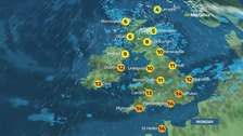 Weather: Sunshine and showers for many