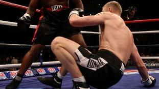 Andrew Flintoff wins maiden fight