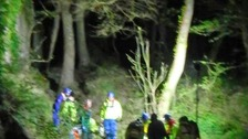 Woman seriously injured in cliff fall