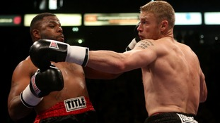 Andrew Flintoff wins maiden fight