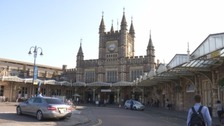 Taxi drivers start protest around Bristol Temple Meads