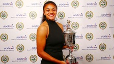 B'ham City star wins Women's Young Player of the Year