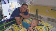 Family worried election will delay heart unit decision