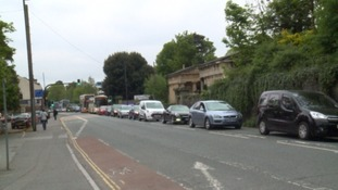 Traffic chaos in Bristol as taxi drivers protest at Temple Meads
