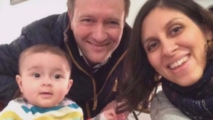 Nazanin Zaghari-Ratcliffe was detained at Tehran Airport last year.