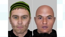 Police release e-fit images over attempt robbery