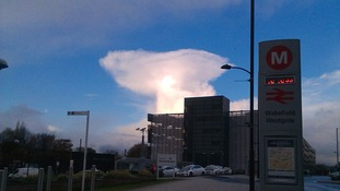 Cumulo-nimbus clouds like this over Wakefield are possible Tuesday/Wednesday