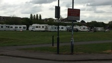 Primary School closes after travellers arrive nearby