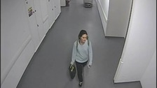 Police have released CCTV images of missing Anna Lewis