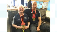 Blind runner Nicky Gardner has well-deserved rest after completing London marathon