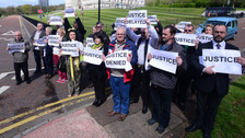Abuse victims hold march for justice at Stormont