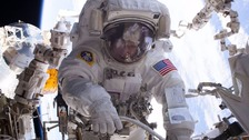 NASA astronaut breaks record for the most time in space