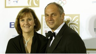 Sir Steve Redgrave and wife Ann arriving at the BT British Olympic Ball