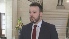 Colum Eastwood said the talks should be halted while the election campaign takes its course.