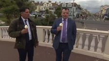 Arron Banks will NOT fight Clacton at the General Election