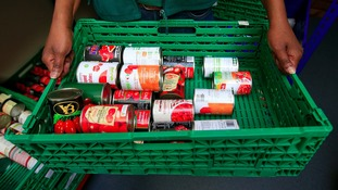 70,000 emergency food packs given out by food banks in Yorkshire in 2016