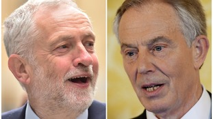 Corbyn as Blair's child, 20 years on