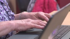 Government statistics show that the North East has a low number of over 65s who use the internet