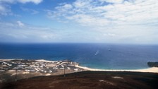 Ascension Island is a tiny volcanic island in the South Altantic