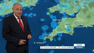 Bob Crampton with the forecast