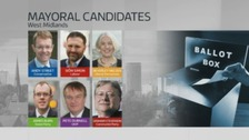 A list of the candidates taking part in the combined authority mayoral elections.