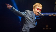 Sir Elton John recovering after intensive care stay