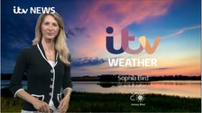 Fair or sunny periods, isolated showers developing