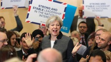 "May warns of Labour ""coalition of chaos"" ahead of Wales visit"