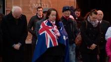 Islanders mark Anzac Day at dawn ceremony