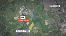 Investigations continue after two people killed in Dumfries crash