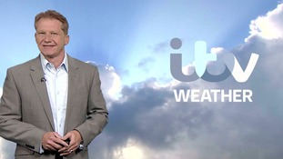 Tuesday afternoon's weather for the west of the region