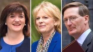 (Left to right) Nicky Morgan, Anna Soubry and Dominic Grieve have quit the Open Britain group.