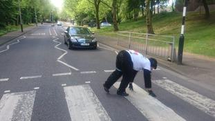 London Marathon far from over for man dressed as gorilla
