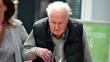 Denver Beddows, 95, who attacked his wife Olive, 88, in an attempted mercy killing.