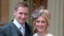 Laura and Jason Kenny honoured at Buckingham Palace
