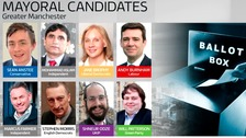The Candidates for Mayor of Greater Manchester.
