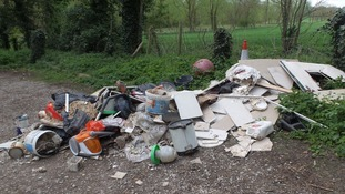 Fly-tipping called the 'scourge of the countryside' by farmers' union