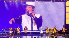 Hundreds of fans missed part of Bruno Mars' gig in Birmingham