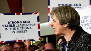 May says she is not complacent ahead of snap General Election and every vote will count