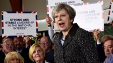 May warns against complacency as she makes pitch to Wales