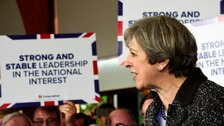 May warns of Labour 'coalition of chaos' in Wales visit