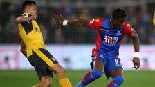 Alexis Sanchez and Wilfried Zaha
