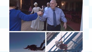 Later In Life: Meet the 90-year-old dancer, 69-year-old skydiver and 84-year-old charity abseiler