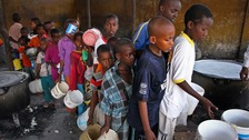 Where is the DEC East Africa crisis appeal money being spent?