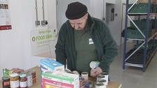 More and more people are turning to food banks for help.